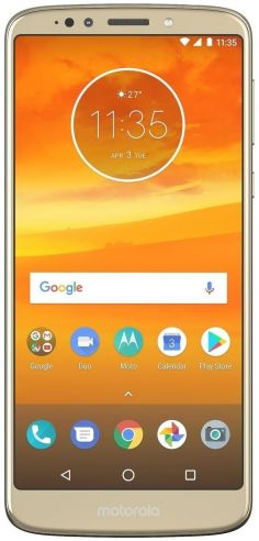 Motorola Moto E5 Plus Europe 16GB fotoğraf
