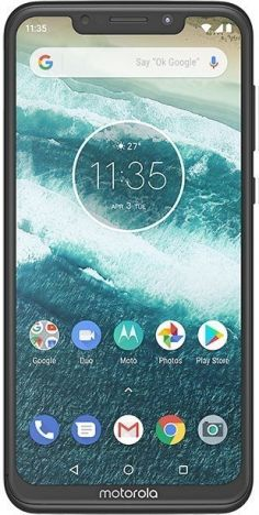 Motorola One Power 64GB 4GB RAM Dual SIM fotoğraf