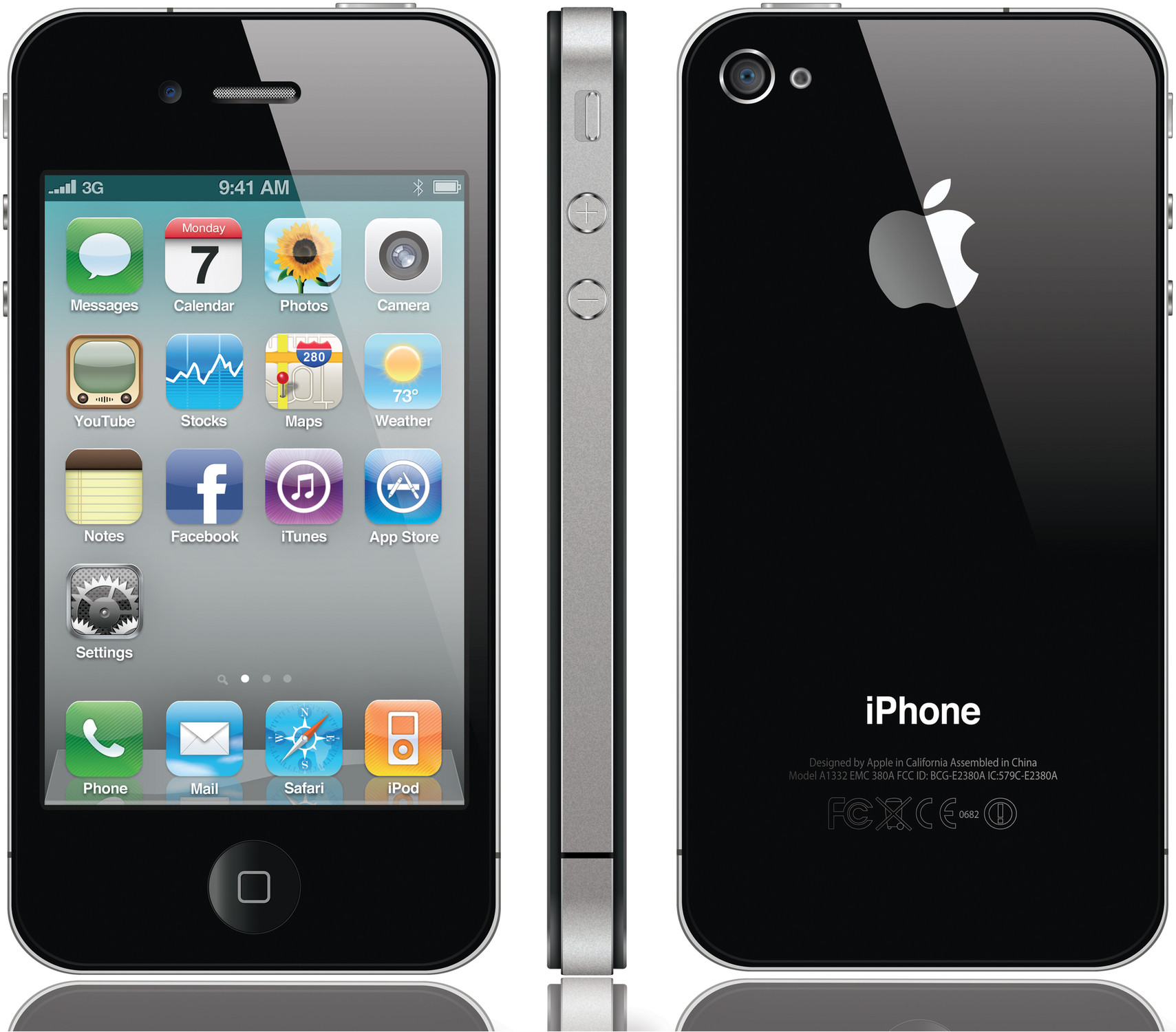 apple iphone 4 16gb specs and price phonegg. Black Bedroom Furniture Sets. Home Design Ideas