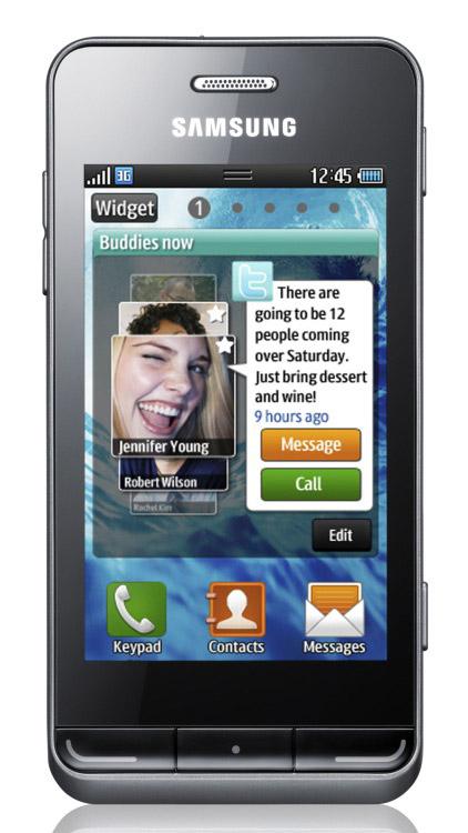 Samsung Gt-S5250 Wave 525 Оперу Мини