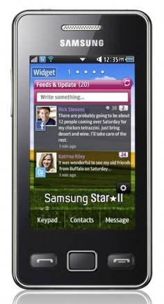 Samsung S5260 Star II photo