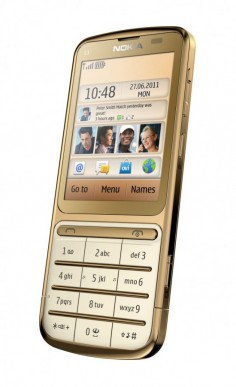Nokia C3-01 Gold Edition تصویر