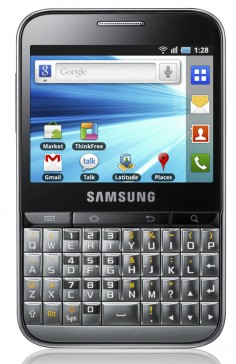 Samsung Galaxy Y Pro B5510 photo