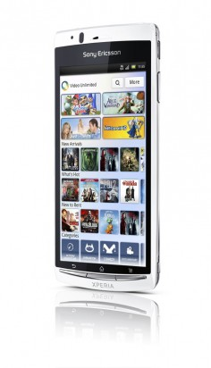 Sony Ericsson Xperia Arc S US version photo