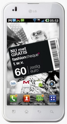 LG Optimus Black صورة