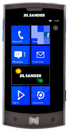 LG Jil Sander Mobile photo