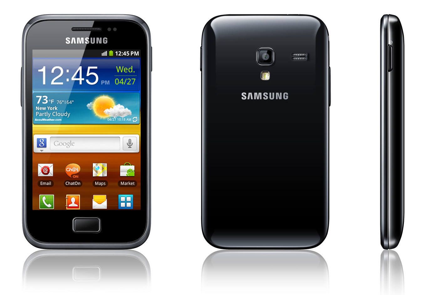 Samsung Galaxy Ace S Mobile Pictures