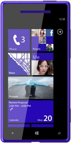 HTC Windows Phone 8X CDMA foto