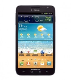 Samsung Galaxy Note T879 foto
