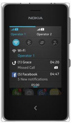 Nokia Asha 500 Dual SIM photo