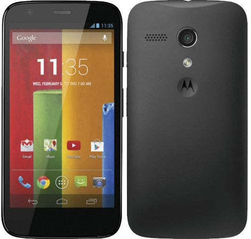 Motorola Moto G at 4000 discount