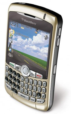 BlackBerry 8320 foto