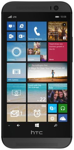 HTC One (M8) for Windows (CDMA) تصویر