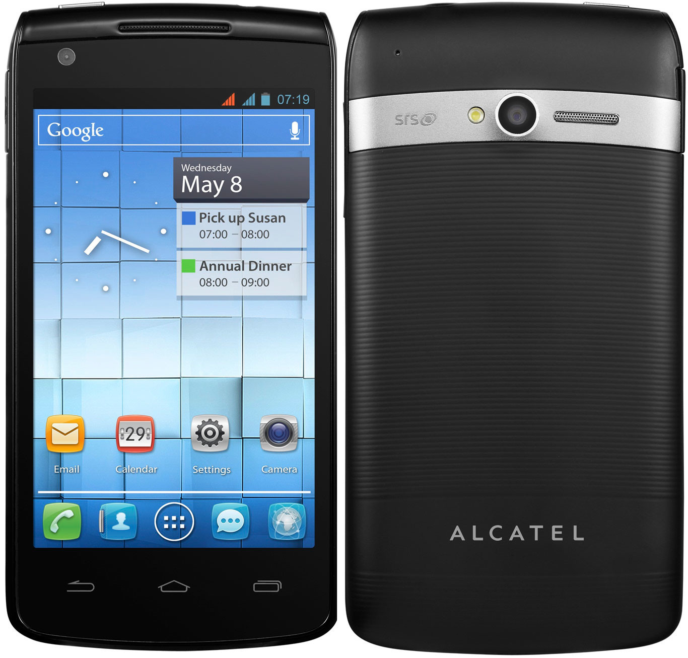 alcatel one touch ot 992d specs and price phonegg. Black Bedroom Furniture Sets. Home Design Ideas