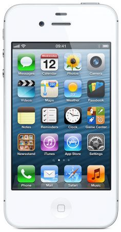 Apple iPhone 4s 8GB fotoğraf