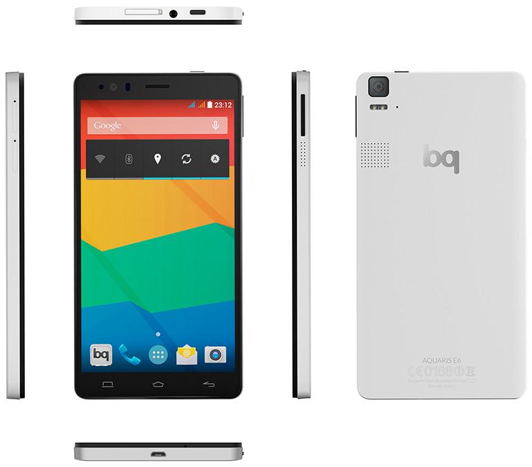 bq aquaris e6 vs iphone 6 plus