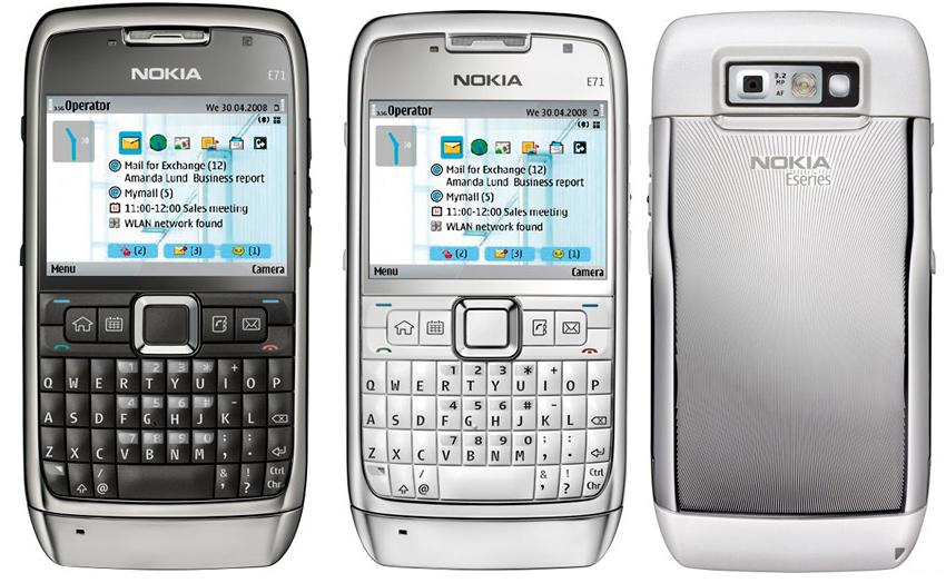 Nokia E71 - Specs and Price