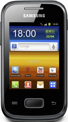 Samsung Galaxy Pocket plus S5301 foto
