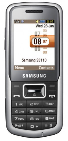 Samsung S3110 photo
