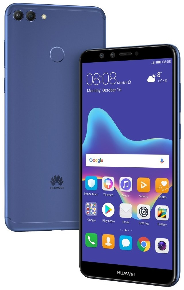 Huawei Y9 (2018) 64GB - Specs and Price - Phonegg
