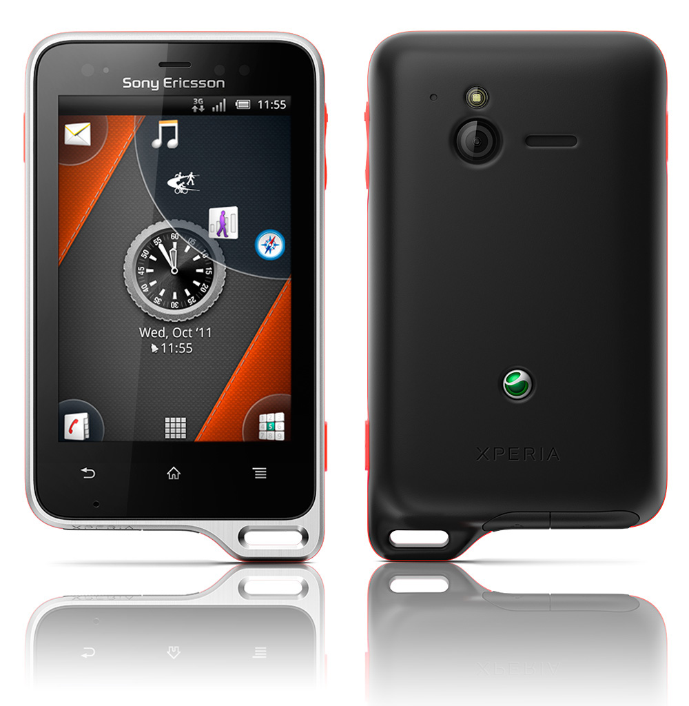 sony ericsson xperia active specs and price phonegg. Black Bedroom Furniture Sets. Home Design Ideas