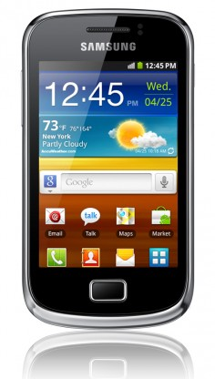Samsung Galaxy mini 2 S6500 photo
