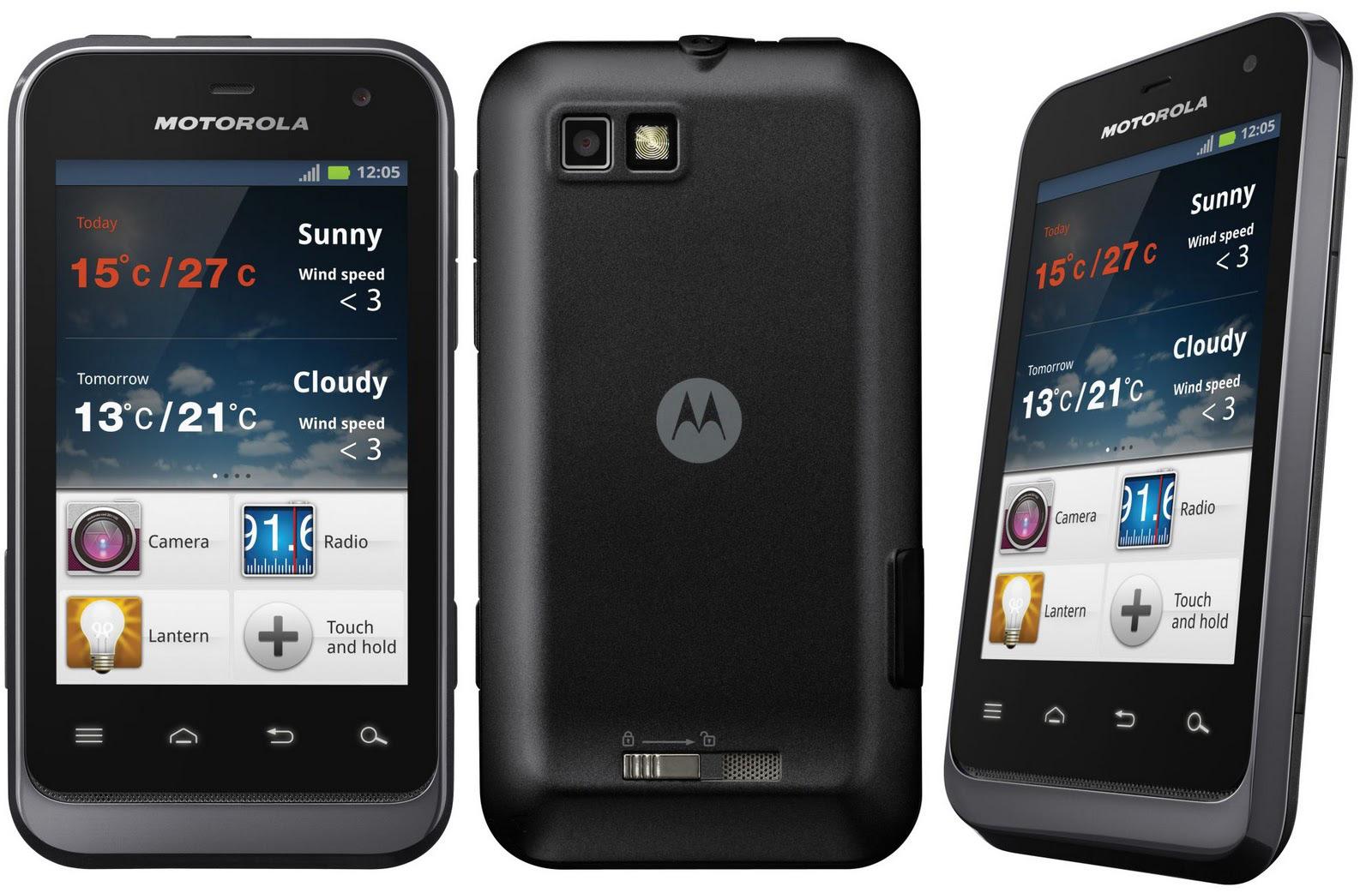 Motorola Defy Mini XT320 - Specs and Price