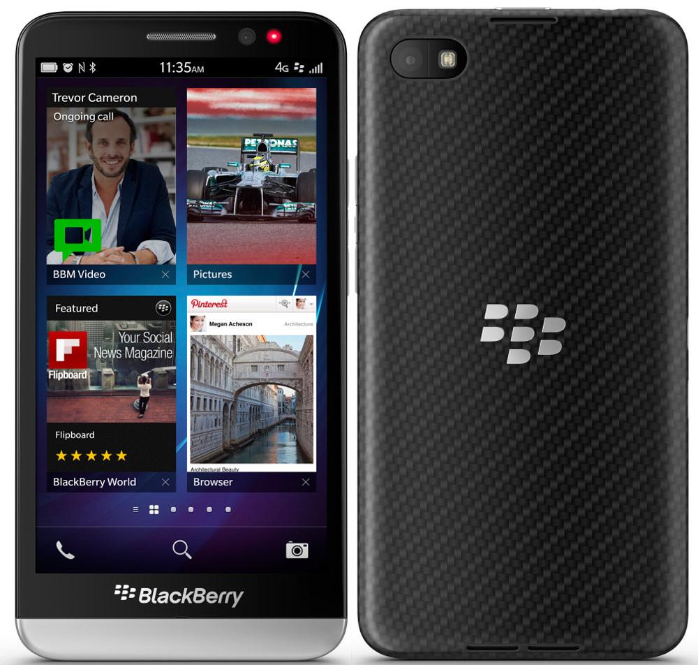 BlackBerry Z30 vs  BlackBerry Z10 STL100-1 - Phonegg