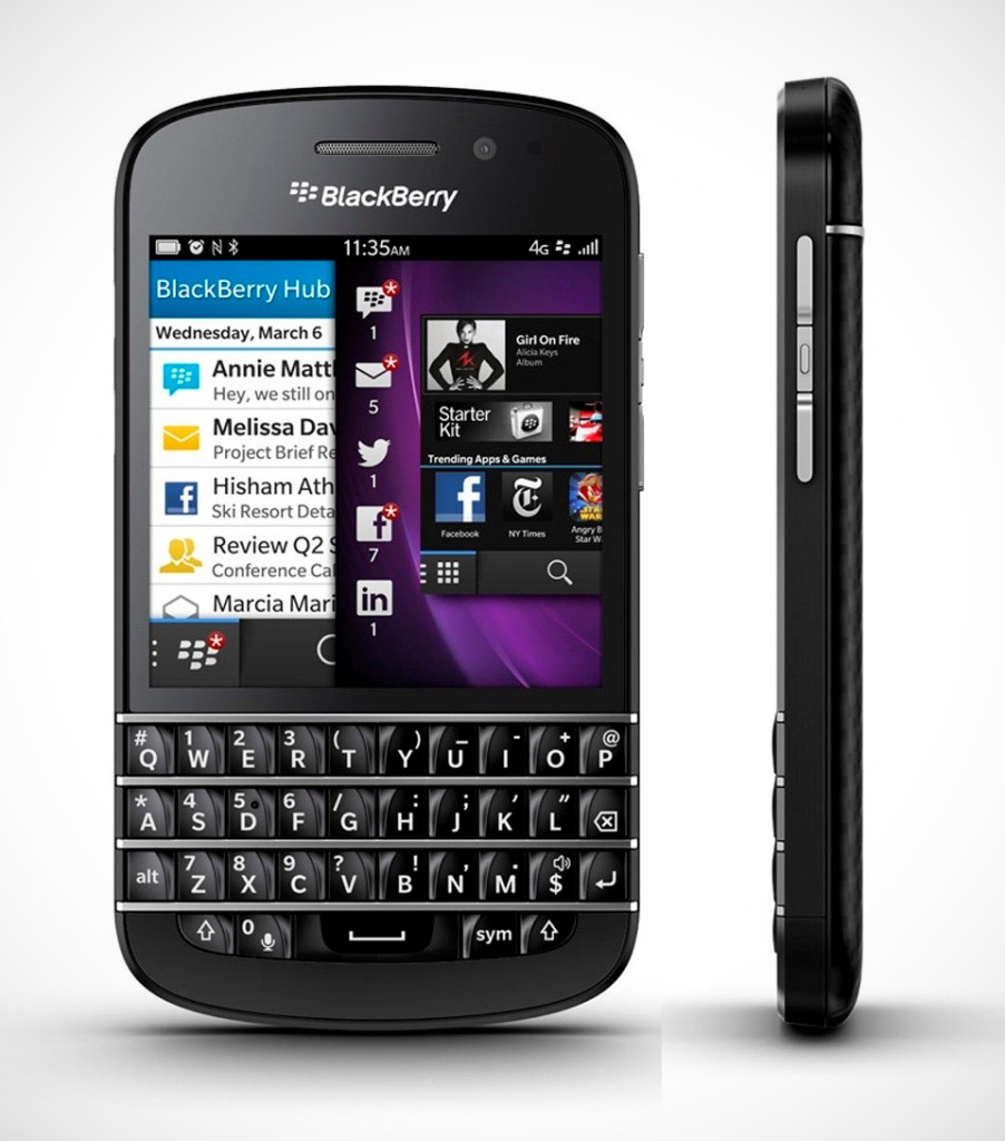 BlackBerry Q10 SQN100-3 - Specs and Price - Phonegg
